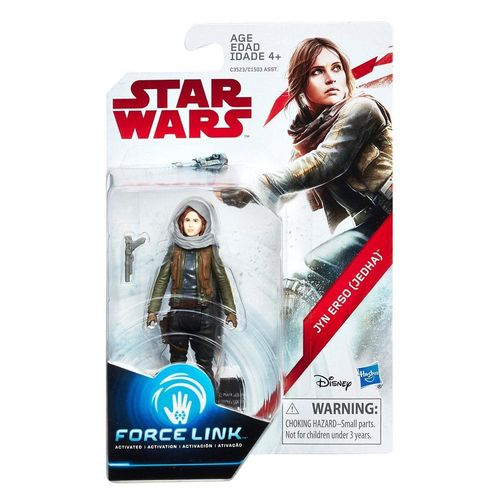 "THE LAST JEDI - JYN ERSO (JEDHA) 3,75"" / FORCE LINK"