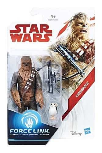 "THE LAST JEDI - CHEWBACCA 3,75"" / FORCE LINK"
