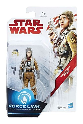 "THE LAST JEDI - RESISTANCE GUNNER PAIGE 3,75"" / FORCE LINK"