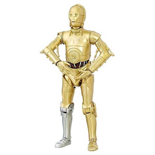 "BLACK SERIES 40th ANNIVERSARY C-3PO 6"" / LOOSE"