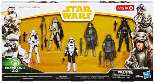 SOLO - A STAR WARS STORY - TROOPER 6-PACK / FORCE LINK 2.0 / TARGET EXCLUSIVE