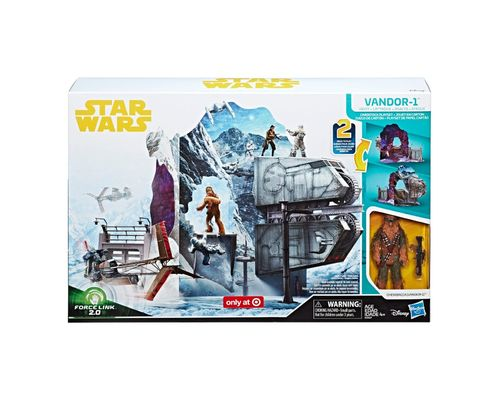 SOLO - A STAR WARS STORY - VANDOR 1 HEIST CARDBORD PLAYSET / FORCE LINK 2.0 / TARGET EXCLUSIVE