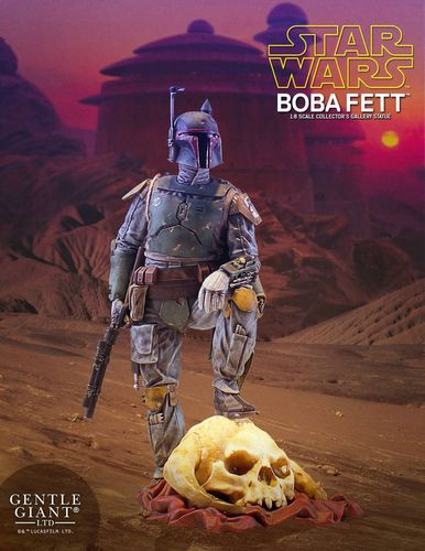 GENTLE GIANT COLLECTORS GALLERY - BOBA FETT 1/8