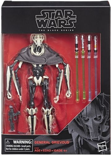 "GENERAL GRIEVOUS 6"" / TARGET EXCLUSIVE"