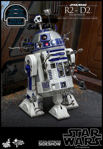 HOT TOYS STAR WARS R2-D2 DELUXE / SIXTH SCALE MMS511