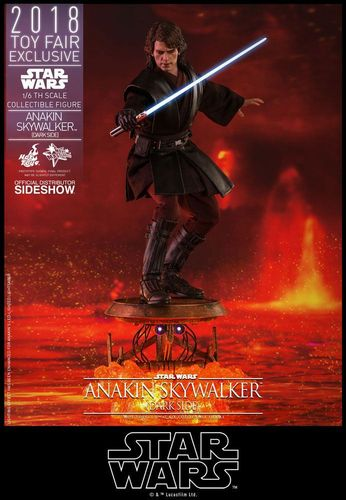 HOT TOYS STAR WARS ANAKIN SKYWALKER (DARK SIDE) / TOY FAIR EXCLUSIVE / SIXTH SCALE MMS486