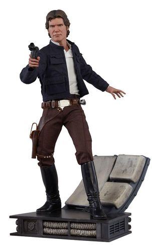 SIDESHOW STAR WARS HAN SOLO (BESPIN) PREMIUM FORMAT STATUE 1/4