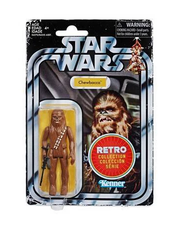 "STAR WARS RETRO COLLECTION CHEWBACCA 3,75"" / TARGET EXCLUSIVE"