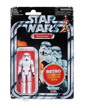 "STAR WARS RETRO COLLECTION STORMTROOPER 3,75"" / TARGET EXCLUSIVE"