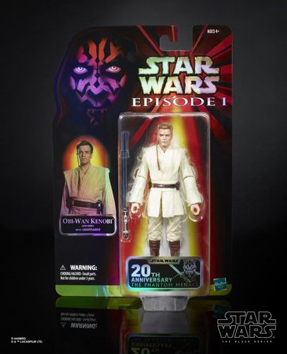 BLACK SERIES EPISODE I 20th ANNIVERSARY OBI-WAN KENOBI / CELEBRATION EXCLUSIVE