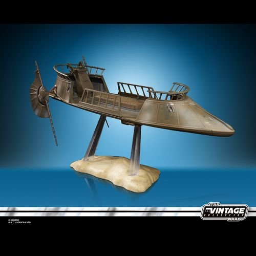 THE VINTAGE COLLECTION - JABBA'S TATOOINE SKIFF 3,75""