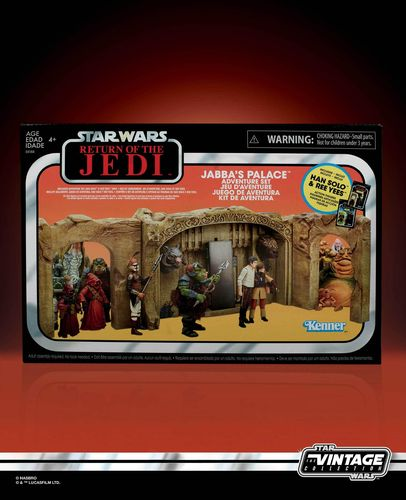 THE VINTAGE COLLECTION - JABBA'S PALACE ADVENTURE SET / WALMART EXCLUSIVE
