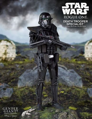 GENTLE GIANT COLLECTORS GALLERY - DEATH TROOOPER SPECIALIST 1/8