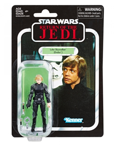 THE VINTAGE COLLECTION - LUKE SKYWALKER (ENDOR) 3,75""