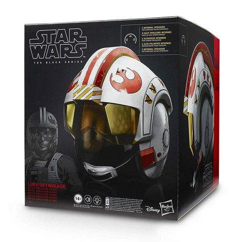 BLACK SERIES LUKE SKYWALKER'S X-WING PILOT HELM (ELECTRONIC) 1:1