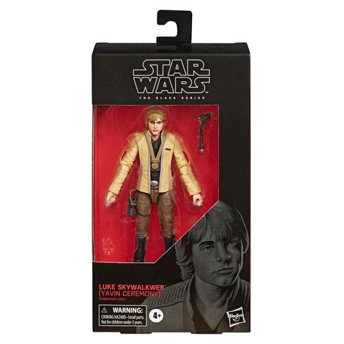 BLACK SERIES LUKE SKYWALKER (YAVIN CEREMONY) 6""