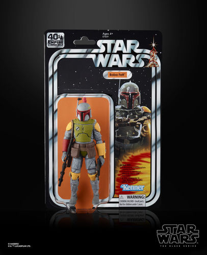 "BLACK SERIES 40th ANNIVERSARY BOBA FETT 6"" / SDCC EXCLUSIVE"