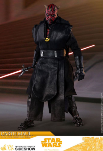 HOT TOYS STAR WARS DARTH MAUL (SOLO) 1/6  DX18