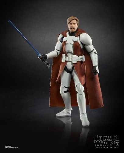 "OBI-WAN KENOBI (CLONE WARS) 6"" / WALGREENS EXCLUSIVE / LOOSE"