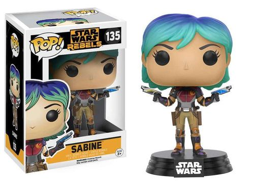 FUNKO POP STAR WARS REBELS - SABINE #135