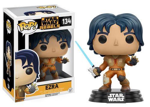 FUNKO POP STAR WARS REBELS - EZRA #134