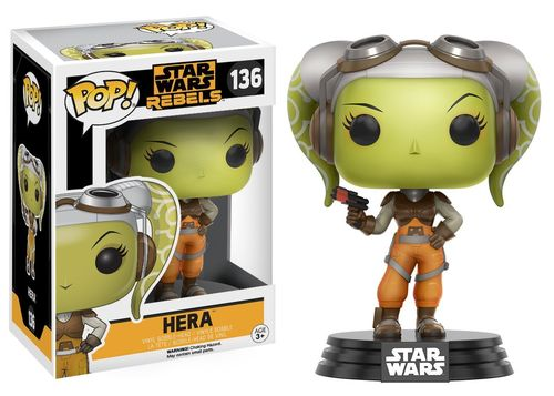 FUNKO POP STAR WARS REBELS - HERA #136