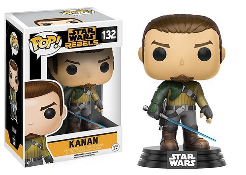 FUNKO POP STAR WARS REBELS - KANAN #132