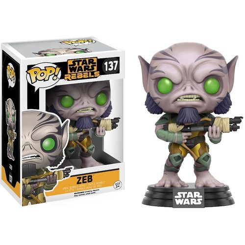 FUNKO POP STAR WARS REBELS - ZEB #137