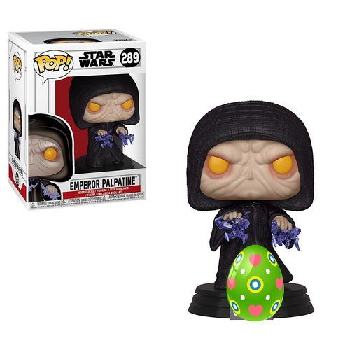 FUNKO POP STAR WARS - EMPEROR PALPATINE #289