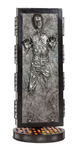 SIDESHOW STAR WARS HAN SOLO IN CARBONITE LIFE-SIZE STATUE 1/1