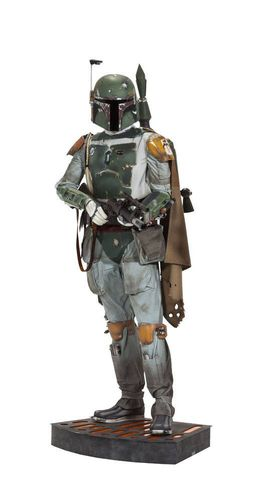 SIDESHOW STAR WARS BOBA FETT LIFE-SIZE STATUE 1/1