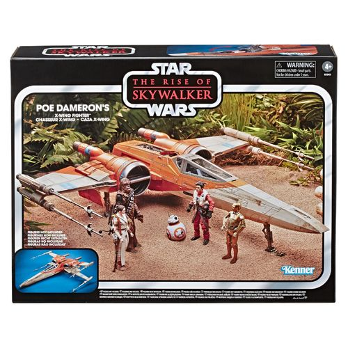 "THE VINTAGE COLLECTION - POE'S X-WING FIGHTER (RISE OF SKYWALKER) 3,75"" / RELEASE IM ABLAUF"