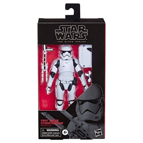 FIRST ORDER STORMTROOPER (WITH RIOT GEAR) 6""