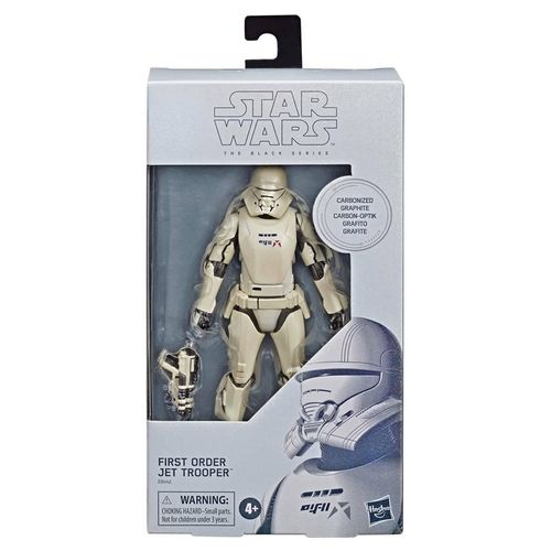 "FIRST ORDER JET TROOPER CARBONIZED VERSION 6"" / WALMART EXCLUSIVE"