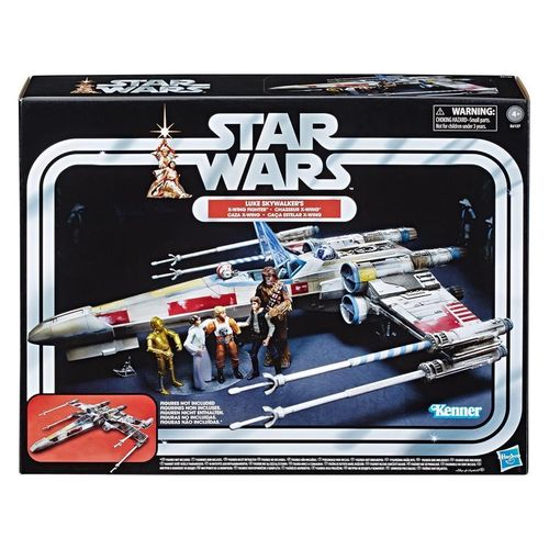 "THE VINTAGE COLLECTION - LUKE SKYWALKER'S X-WING FIGHTER 3,75"" / RELEASE IM ABLAUF"