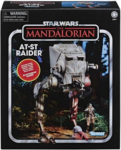 "THE VINTAGE COLLECTION - AT-ST RIDER + KLATOOIAN WARRIOR (THE MANDALORIAN) 3,75"" / BEST BUY EXCL."