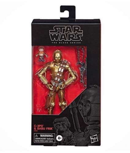 C-3PO + BABU FRIK / EXCLUSIVE