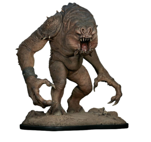 SIDESHOW STAR WARS RANCOR DELUXE STATUE