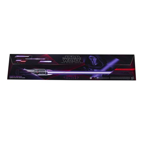 BLACK SERIES FORCE FX ELITE LIGHTSABER DARTH REVAN 1:1