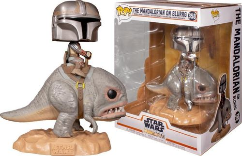 FUNKO POP STAR WARS THE MANDALORIAN - THE MANDALORIAN ON BLURRG #358
