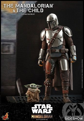 HOT TOYS STAR WARS THE MANDALORIAN + THE CHILD 2-PACK 1/6 TMS014