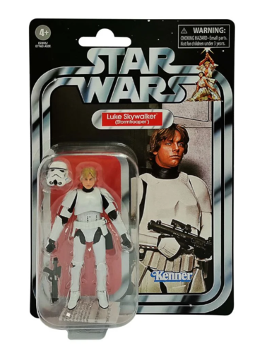 "THE VINTAGE COLLECTION - LUKE SKYWALKER (STORMTROOPER) 3,75"" / WARE IM ZULAUF"