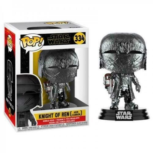 FUNKO POP STAR WARS KNIGHT OF REN (ARM CANNON) CHROME VERSION #334