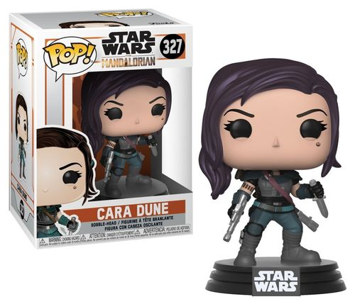 FUNKO POP STAR WARS THE MANDALORIAN - CARA DUNE #327