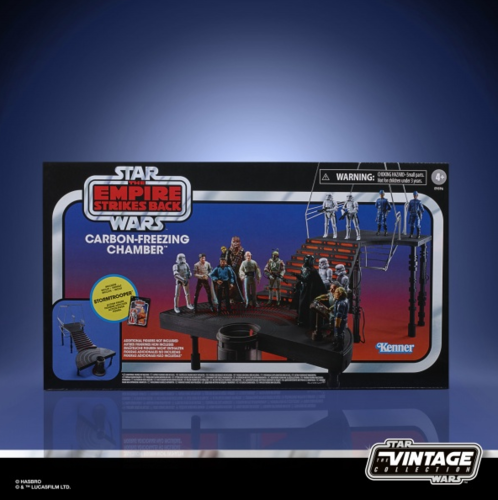 THE VINTAGE COLLECTION - BESPIN FREEZE CHAMBER PLAYSET + STORMTROOPER