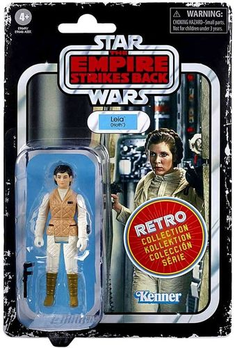 "STAR WARS RETRO COLLECTION PRINCESS LEIA (HOTH) (ESB) 3,75"" / TARGET EXCLUSIVE"