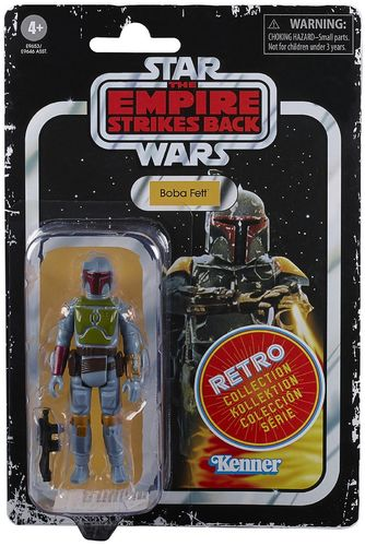 "STAR WARS RETRO COLLECTION BOBA FETT (ESB) 3,75"" / TARGET EXCLUSIVE"
