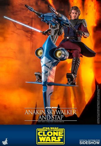 HOT TOYS STAR WARS ANAKIN SKYWALKER AND STAP (THE CLONE WARS) 1/6 TMS020
