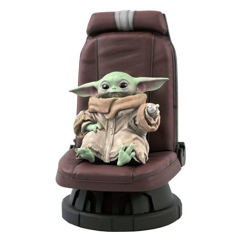 GENTLE GIANT STAR WARS THE CHILD IN CHAIR (THE MANDALORIAN) PREMIER COLLECTION 1/2