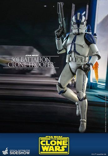 HOT TOYS STAR WARS 501st BATTALION CLONE TROOPER (THE CLONE WARS) 1/6 TMS022